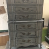 Cherry French Provincial Tall Dresser After