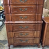Cherry French Provincial Tall Dresser