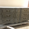 French Provincial Tall Dresser After